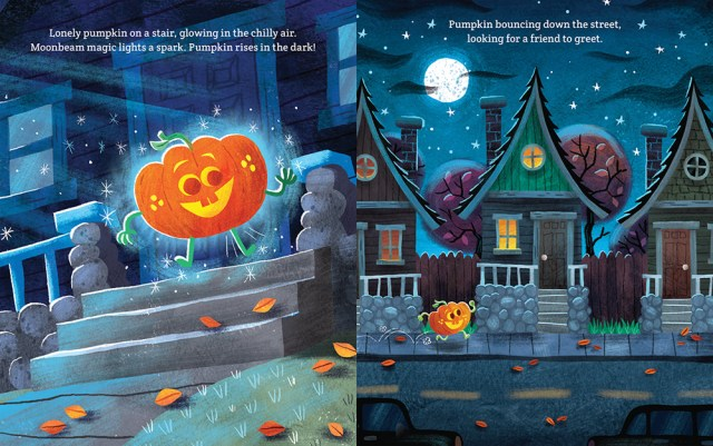Pumpkin Magic Page Spread, Image Scholastic