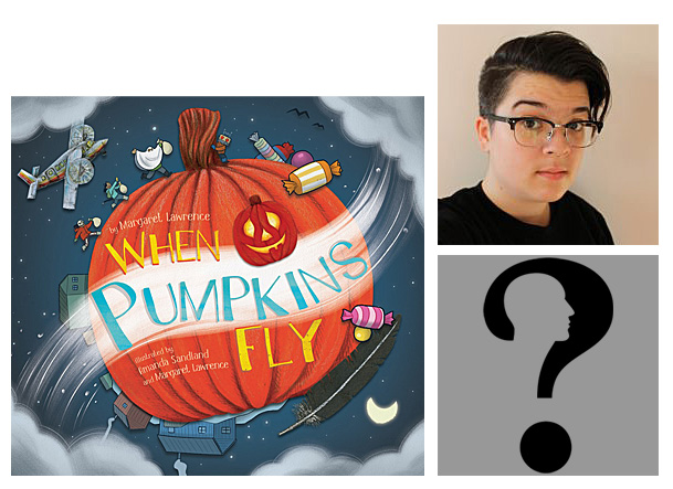 When Pumpkins Fly Cover Image Inhabit Media, Author Image by Gordon Johnson from Pixabay, Illustrator Image Amanda Sandland