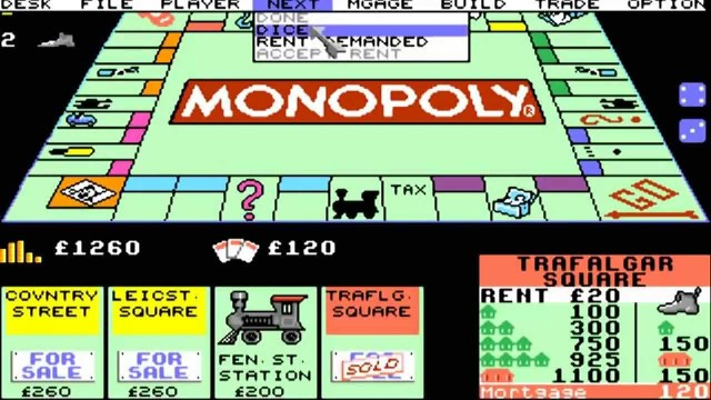 digital version of monopoly for C64