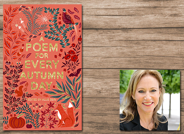 A Poem for Every Autumn Day Cover Image Macmillan Children's Books, Author Image Allie Esiri