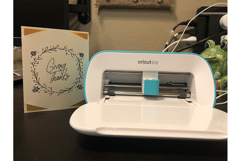 Cricut Joy: Finished \ Image: Dakster Sullivan
