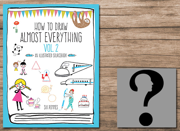 How to Draw Almost Everything Vol 2 Cover Image Quarry Books, Author Image by Gordon Johnson from Pixabay