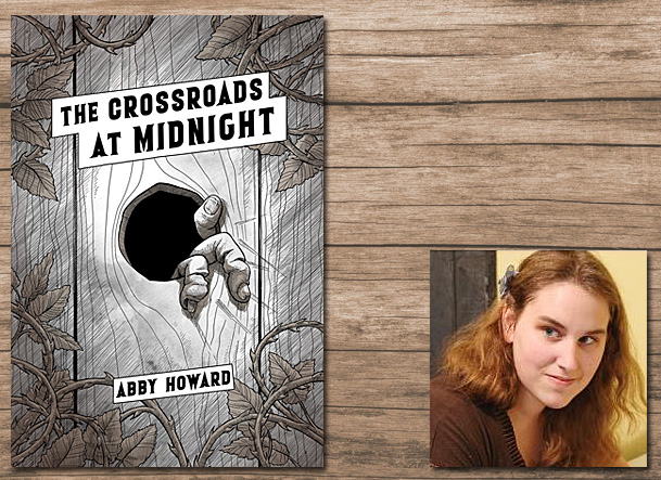 The Crossroads at Midnight Cover Image Iron Circus Comics, Author Image Abby Howard