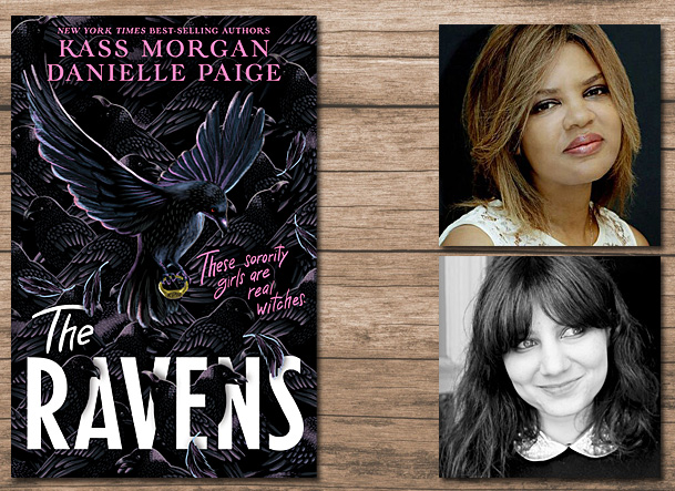 The Ravens Cover Image HMH Books for Young Readers, Author Images Kass Morgan and Danielle Paige