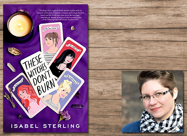 These Witches Don't Burn Cover Image Razorbill, Author Image Isabel Sterling