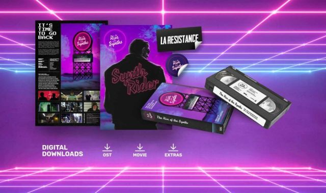 The Rise of the Synths Packshot, Image Castell and Moreno