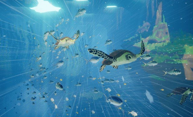 Abzû best video game for relaxing