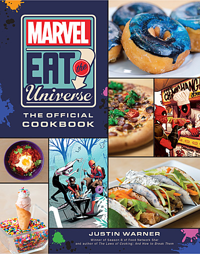 Marvel Eat the Universe Cover, Image Insight Editions