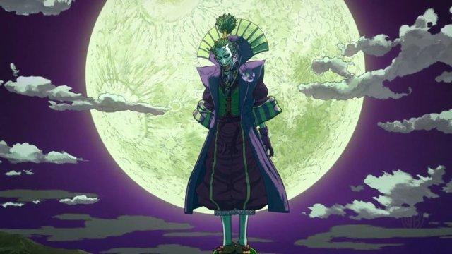 screen shot of The Joker in Batman Ninja
