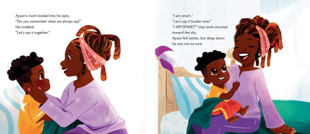 I am Smart, I am Blessed, I Can Do Anything Page Spread, Image Penguin Young Readers