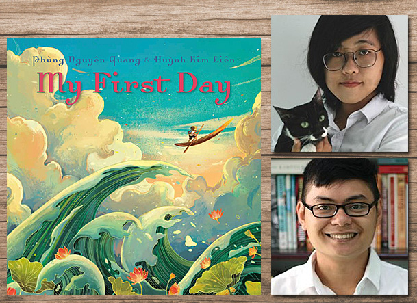 My First Day Cover Image Penguin, Author Image Phung Nguyen Quang, Illustrator Image Huynh Kim Lien