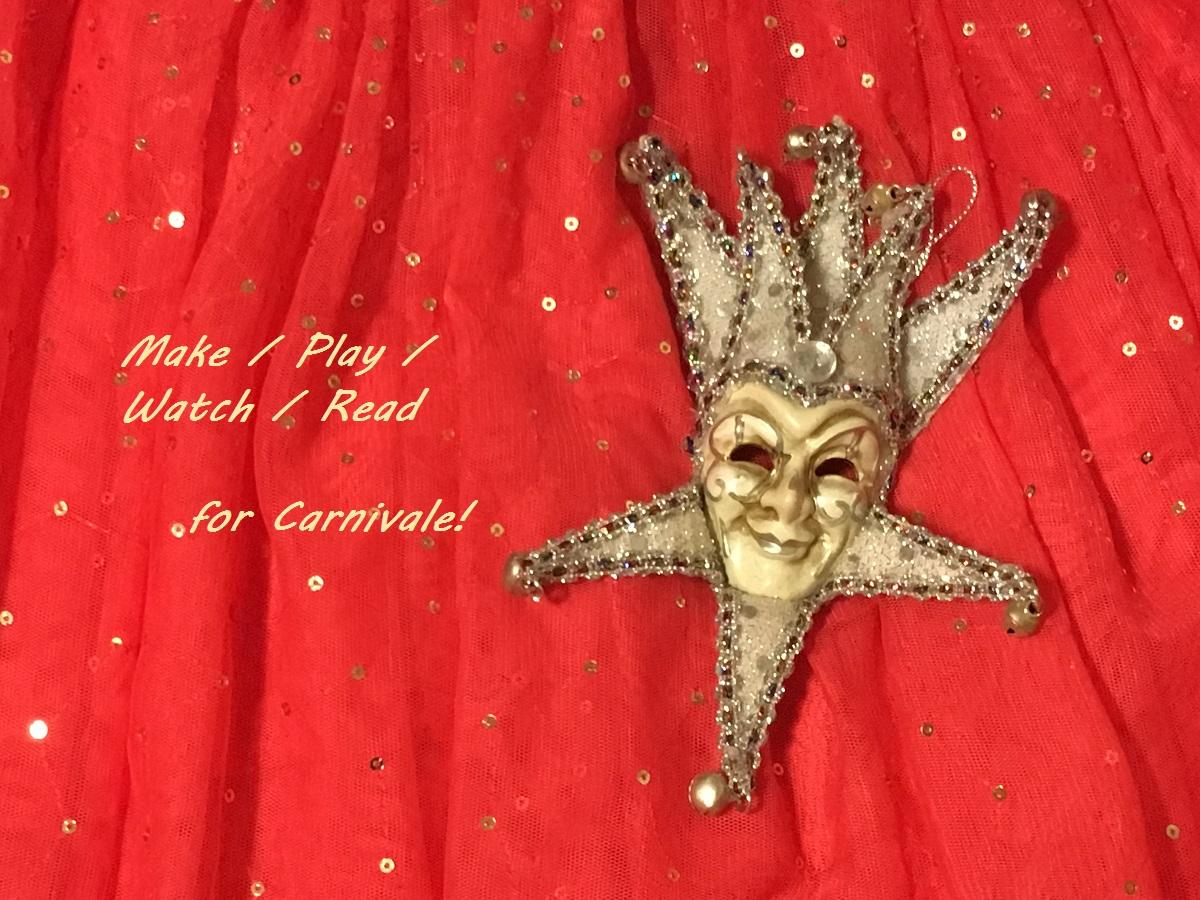 image of carnivale mask