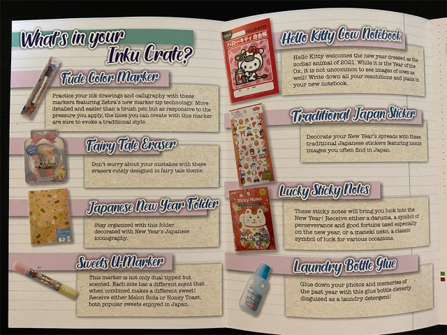 Inku Crate Items \ Image: Dakster Sullivan