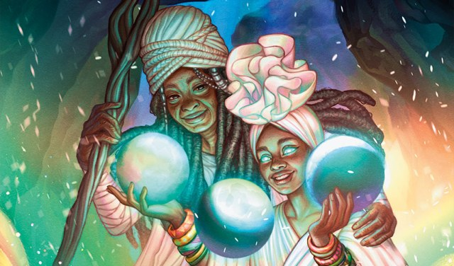 Secret Lair: Black Is Magic Alt art Ponder