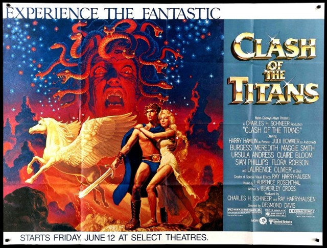 Original poster for Clash of the Titans