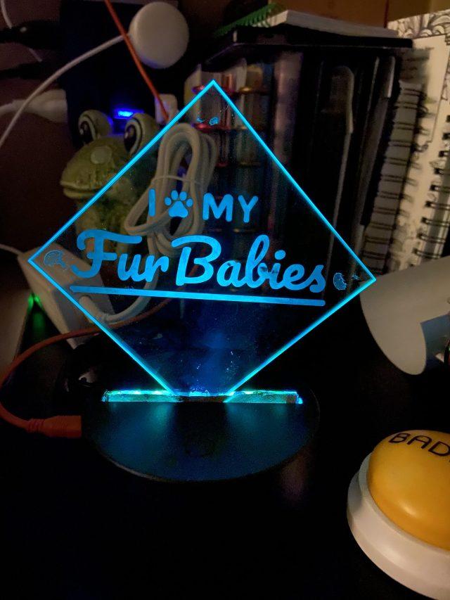 Lighted sign  Image: Dakster Sullivan