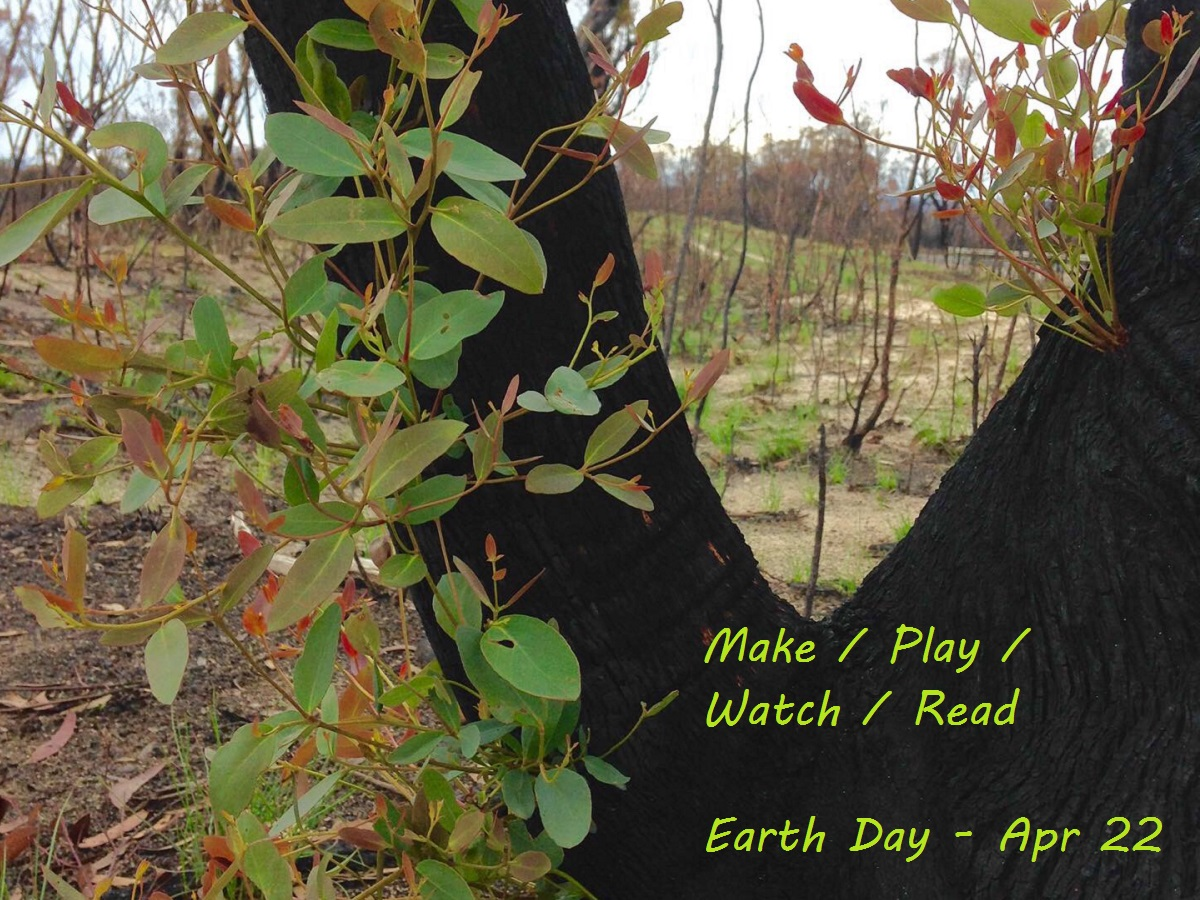 Make Play Watch Read on Earth Day