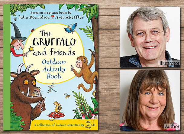 The Gruffalo and Friends Outdoor Activity Book Cover Image, Macmillan Children's Books