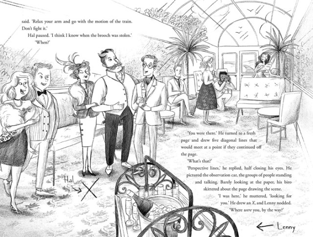 The Highland Falcon Thief Illustration, Image Pan Macmillan