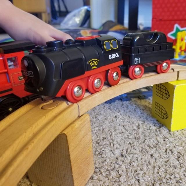 Brio Battery Powered Steaming Train