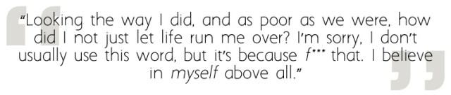 Opal Talks about Self-Belief