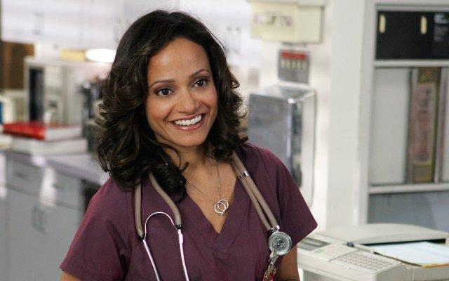 Carla Espinosa (head of nurses) from Scrubs, portrayed by Judy Reyes