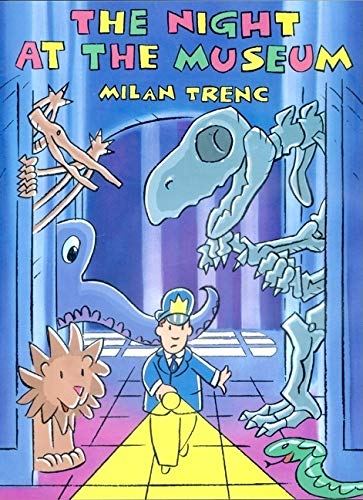 Cover of 'The Night at the Museum' by Milan Trenc