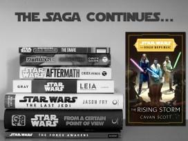 The Saga Continues: The Rising Storm by Cavan Scott