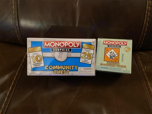 Monopoly Token Box and Chest \ Image: Dakster Sullivan
