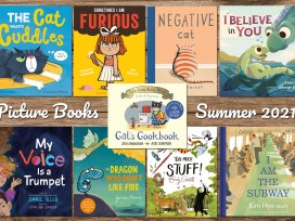 Picture Books Summer 2021, Cover Images as Below