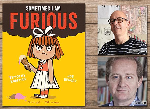 Sometimes I am Furious, Cover Image, Macmillan Children's Books