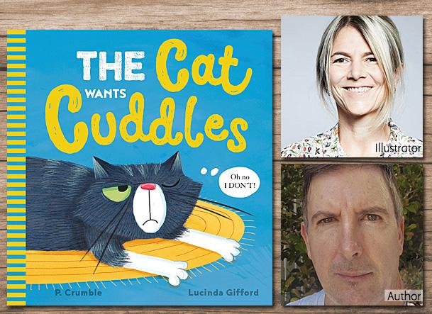 The Cat Wants Cuddles, Cover Image Scholastic Australia