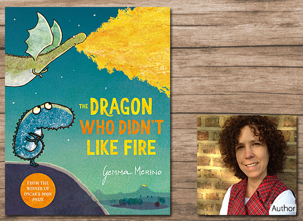 The Dragon Who Didn't Like Fire, Cover Image Macmillan Children's