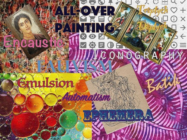 Be the Artist 2021 Vocabulary