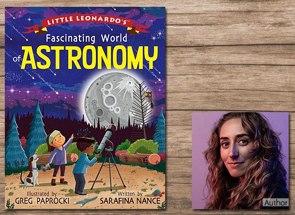 Little Leonardo's Fascinating World of Astronomy Cover Image, Gibbs Smith