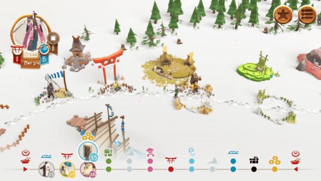 "Digital game of ""Tokaido"" Japan"