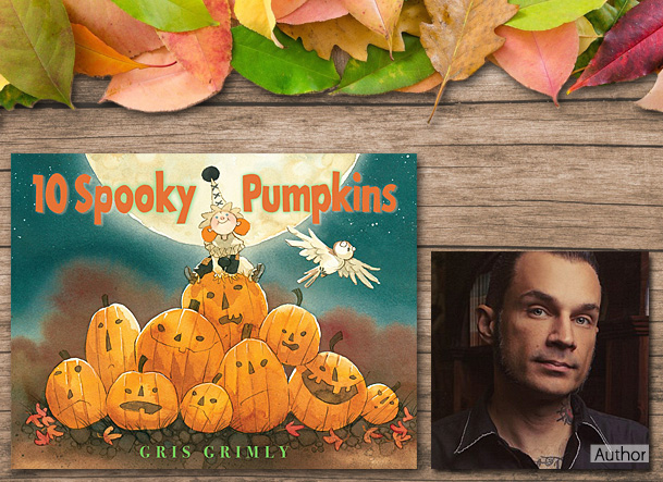 10 Spooky Pumpkins, Cover Image Orchard Books
