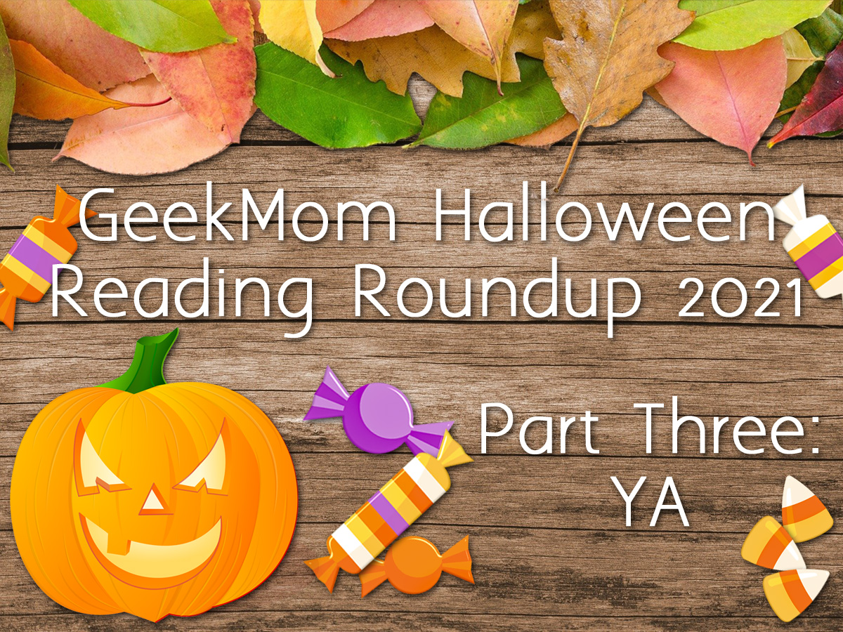 Halloween Reading Roundup Header 2021 Part Three