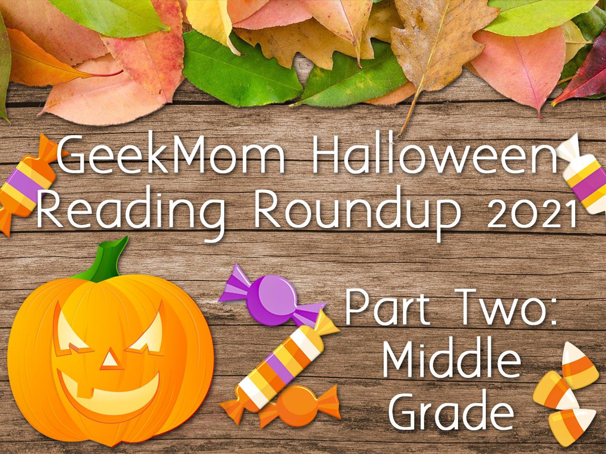Halloween Reading Roundup Header 2021 Part Two