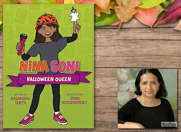 Nina Soni Halloween Queen Cover Image, Peachtree Publishing