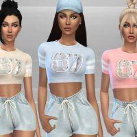 Conteúdo Personalizado The Sims 4 Roupas