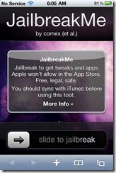 Jailbreak iPod Touch 3G MC, 2G iOS 4 0 1 [JailbreakMe]