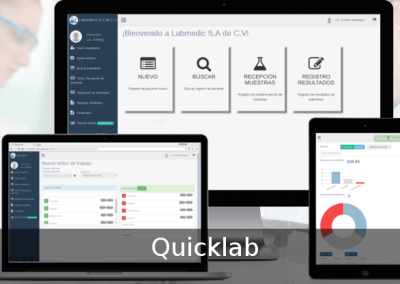 Clinical laboratory software – QUICKLAB