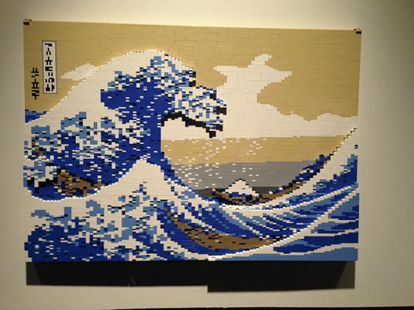 "Hokusai's ""The Great Wave off Kanagawa"""