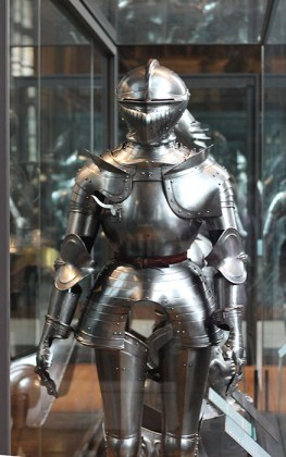 Suit after suit of plate armor