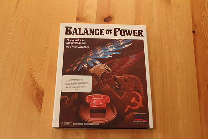Balance of Power - 1985, Chris Crawford & Mindscape