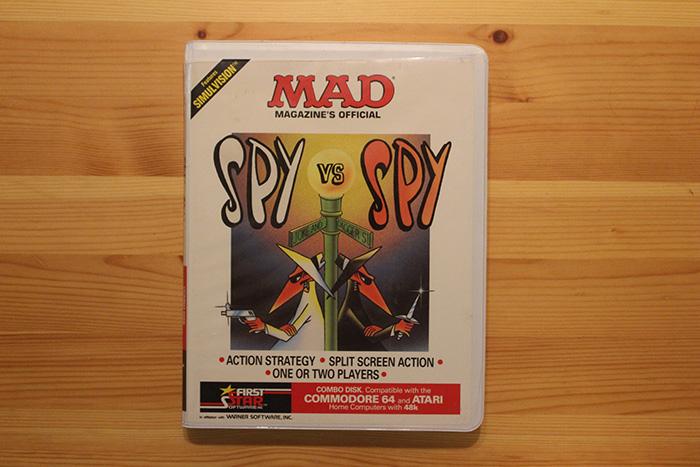 """""""Spy vs. Spy"""", by First Star Software."""