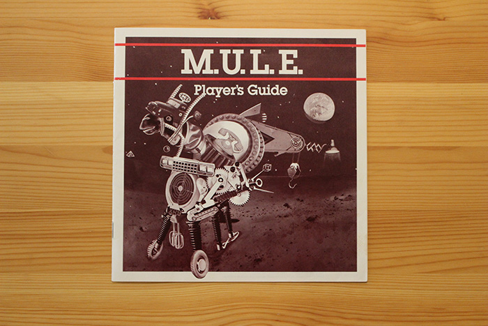 M.U.L.E. instruction manual