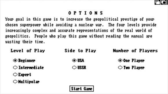 The good-old-days, when software told gamers to RTFM