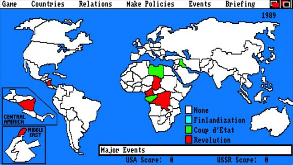 Nice start for the USA, with coups in Libya and Iraq.